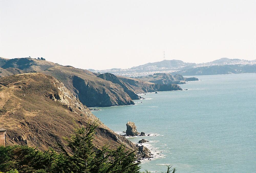 Coastline Southern Marin County, CA by stephen hewitt