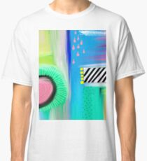 Colorful Abstract Painting Classic T-Shirt