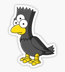 Bart Simpson - Three-Eyed Raven Sticker