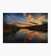Celestial Fireworks Photographic Print