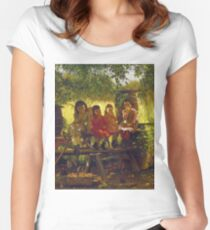 John George Brown - The Cider Mill Women's Fitted Scoop T-Shirt
