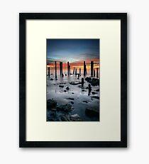 Port Willunga Framed Print