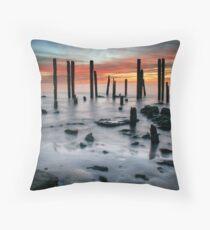 Port Willunga Throw Pillow