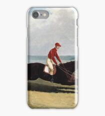 John Frederick Herring, Sr. - The Baron With Bumpy Up, At Newmarket iPhone Case/Skin