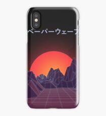 Vaporwave Retro iPhone Case/Skin