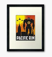pacific rim Framed Print