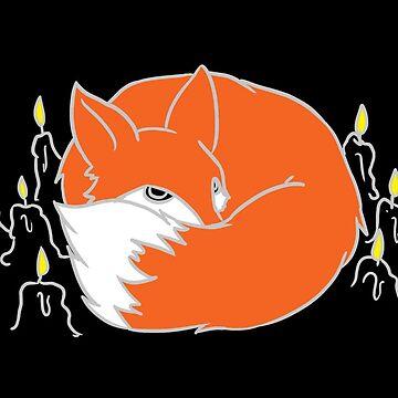Occult Trash - Candle Fox by occulttrash