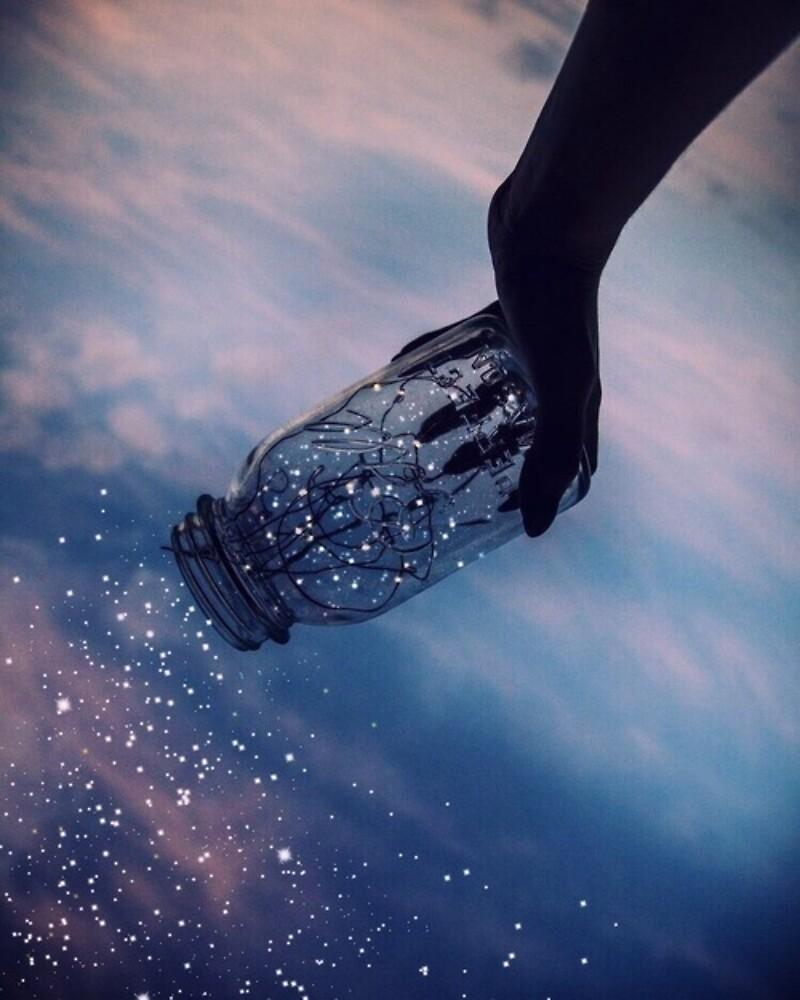 Jar of Stars by laureum