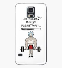Rick and Morty. Installing muscles. Case/Skin for Samsung Galaxy