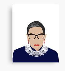 Ruth Bader Ginsburg Leinwanddruck