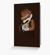 8-Bit Blues Greeting Card