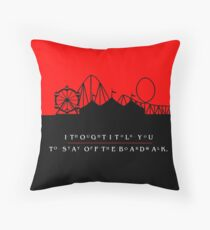 The Lost Boys - I Thought I Told You To Stay Off The Boardwalk Throw Pillow