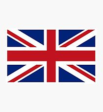 Union Jack, Flag of the United Kingdom, Britain, British flag, Pure and Simple Photographic Print