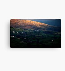 Irish landscape Canvas Print