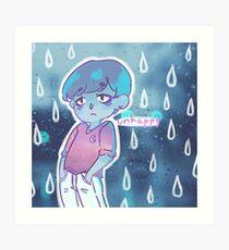 unhappy Art Print