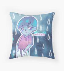 unhappy Throw Pillow