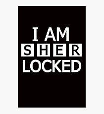 I am ---- locked Photographic Print