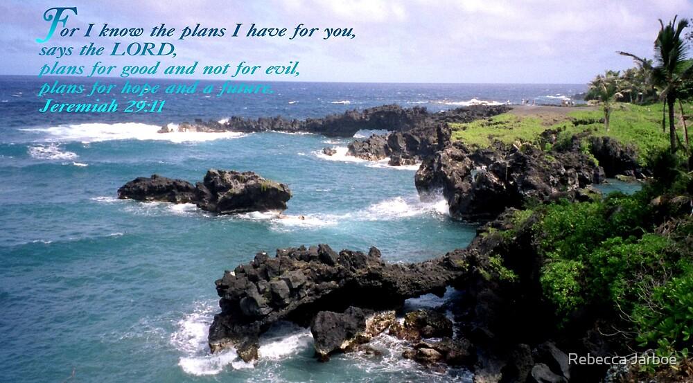 Jeremiah 29:11 by Rebecca Jarboe