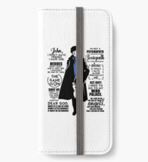 Quotes iPhone Wallet/Case/Skin
