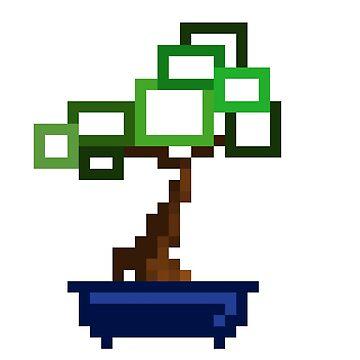 Pixel Bonsai  by seriouslydaft