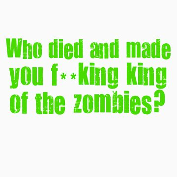 'King of the Zombies' Shaun of The Dead  by sinamorata