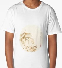 Quiet Night Thoughts Long T-Shirt