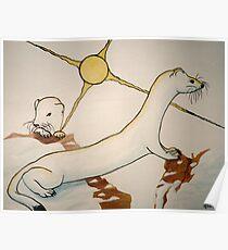 Ferret Family Poster