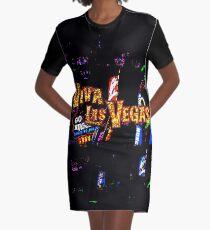 Viva Las Vegas Graphic T-Shirt Dress