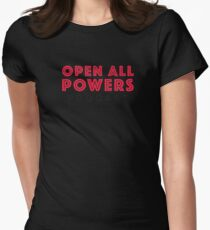 Open All Powers Podcast Womens Fitted T-Shirt