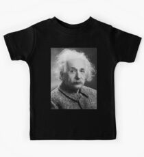 Albert Einstein, Genius, E = mc2, Math, Formula, Science, Physics,  Kids Tee