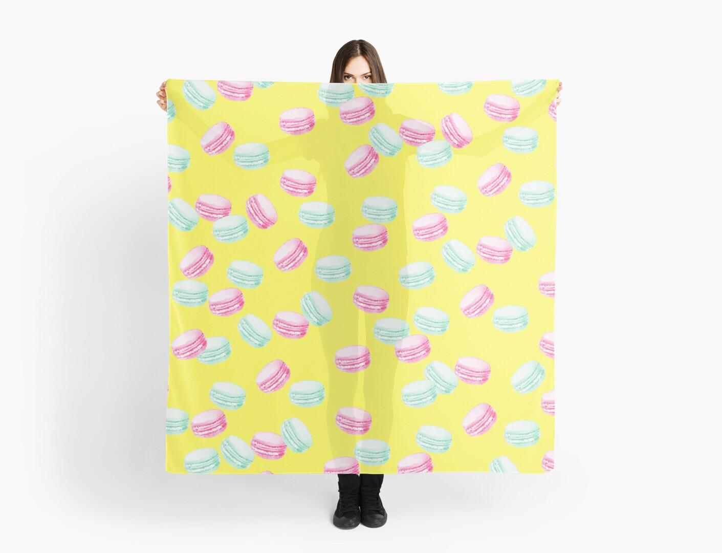 Macaroons pattern, Pink macaroons, Blue macaroons, Macaron, Pattern ...