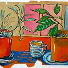 Sage and Avo Make Friends over a Cup of Chamomile Tea by Evelyn Bach