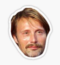 Mads Mikkelsen Sticker