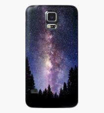 Sternennachtwald - Galaxy Stars Hülle & Klebefolie für Samsung Galaxy