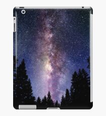 Starry Night Forest - Galaxy Stars iPad Case/Skin