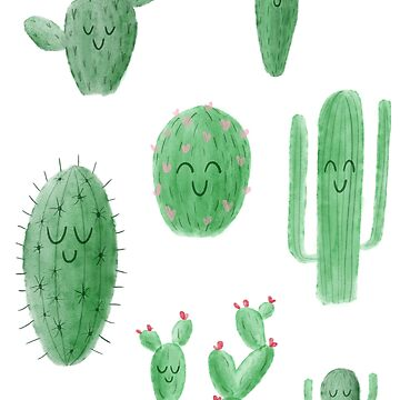 Happy Cacti by krimons