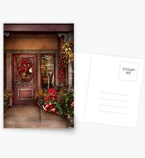Winter - Store - Metuchen, NJ - Dressed for the holidays Postcards