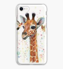 April the Giraffe iPhone Case/Skin