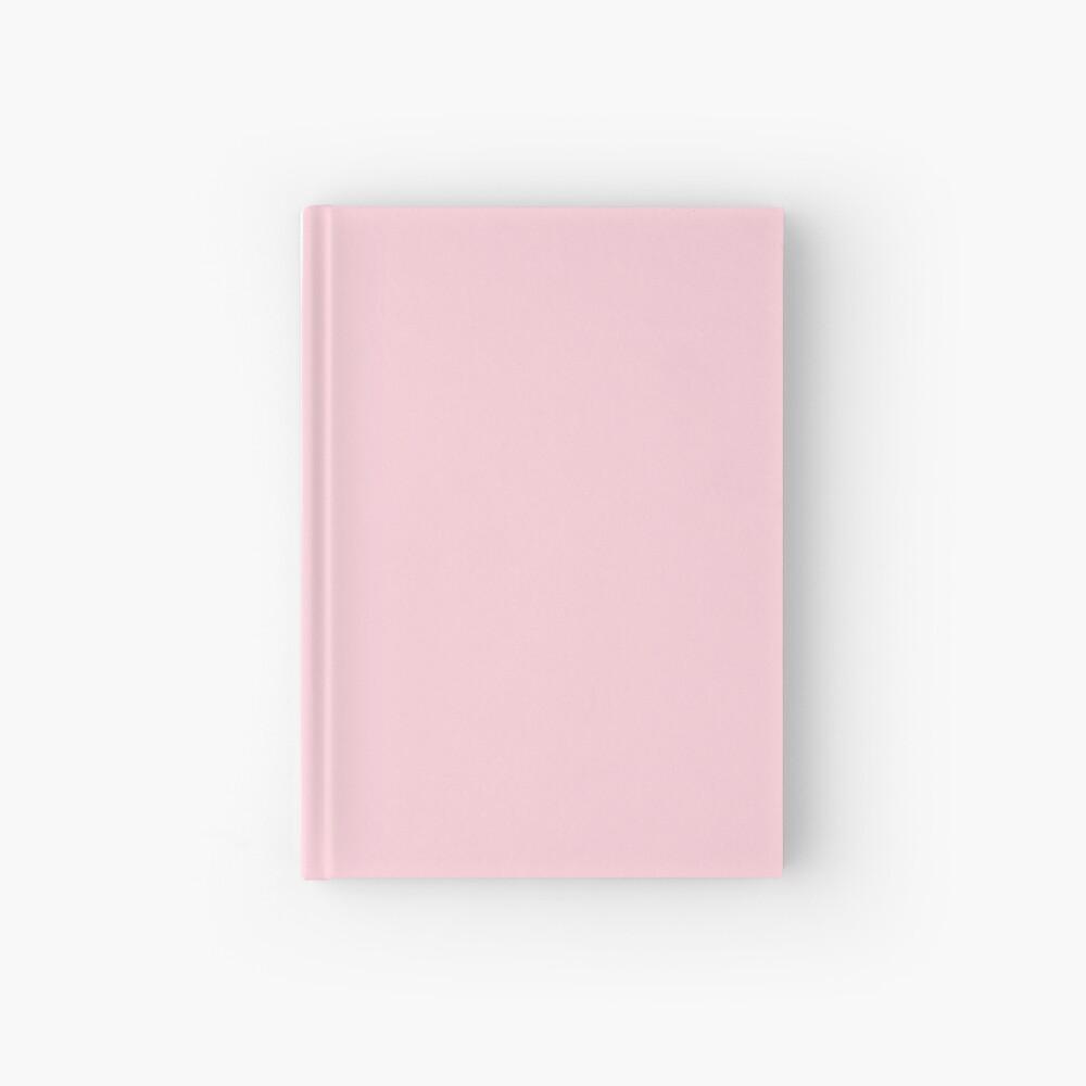 Leichte weiche Pastellrosa einfarbig Notizbuch