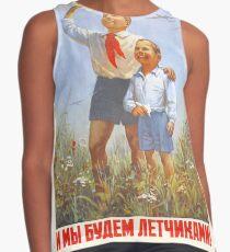 USSR CCCP Cold War Soviet Union Propaganda Posters Contrast Tank