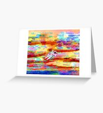 Lost in Colors  Greeting Card