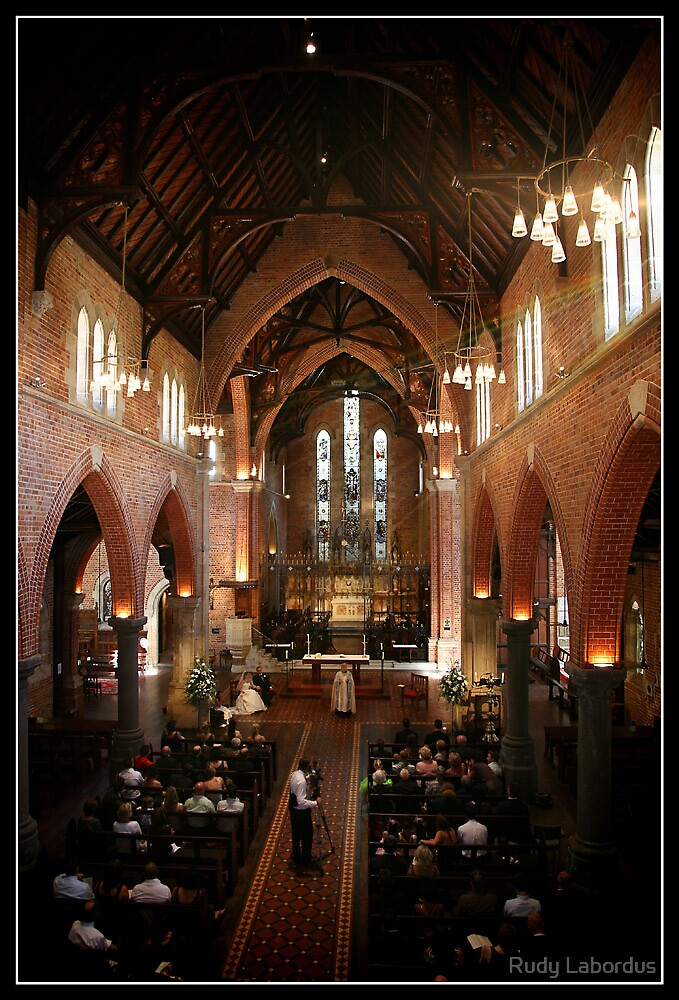 church wedding by Rudy Labordus
