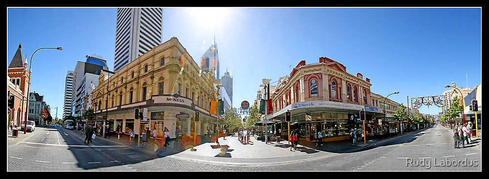 hay st mall, perth australia by Rudy Labordus