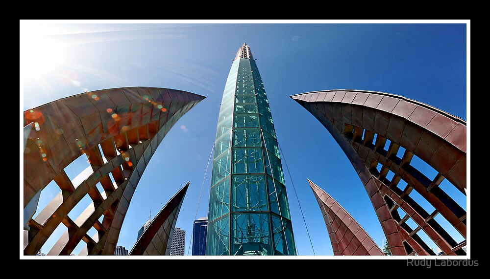 bell towers, perth, australia by Rudy Labordus