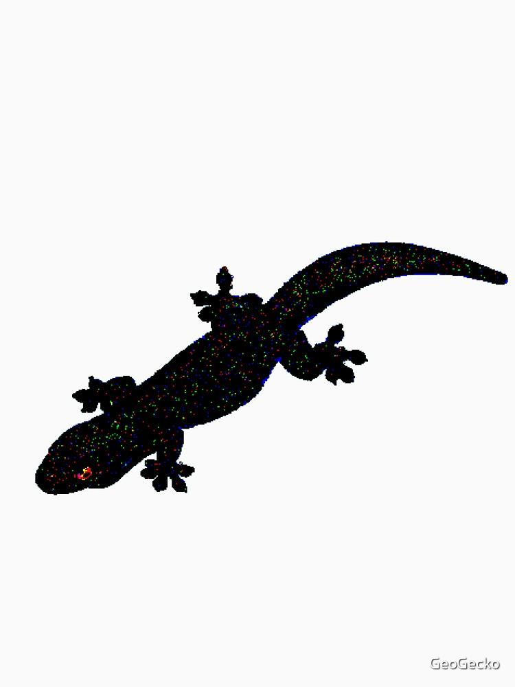 Pixelated Gecko by GeoGecko