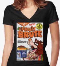 Fruit Brute fan art Women's Fitted V-Neck T-Shirt