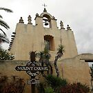 A Little Church In California - Our lady Of Mount Carmel, Montecito, Santa Barbara County, CA by Rebel Kreklow