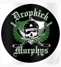 Dropkick Murphys Pirate Poster
