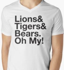 THE WIZARD OF OZ Lions and Tigers and Bears Oh My! Ampersand T-Shirt
