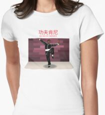 """Kendrick Lamar """"Kung Fu Kenny"""" from the Album """"DAMN."""" Womens Fitted T-Shirt"""